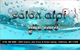 Salon Alpi Gift Card